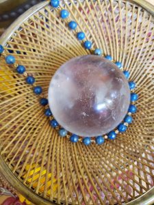 Denim Lapis Lazuli Necklace