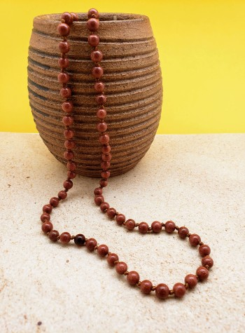 Knotted Sandstone Mala